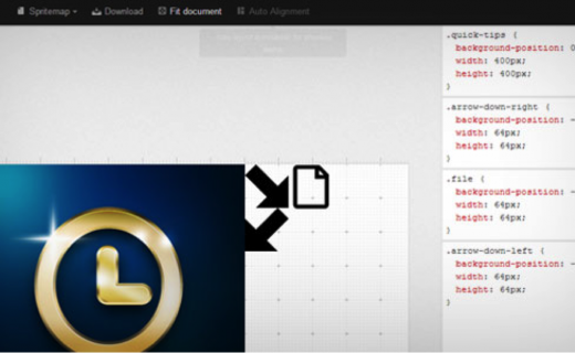 sprite pad web design tool