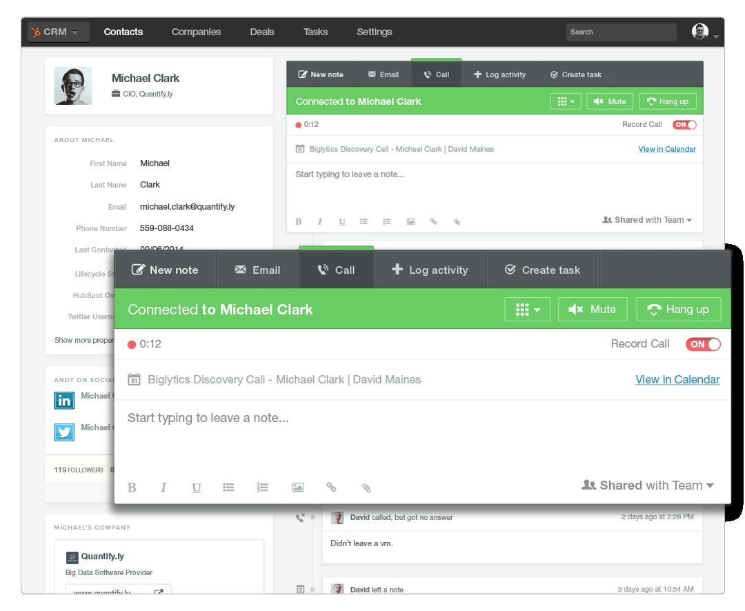 Screenshot-hubspot-crm-call-feature