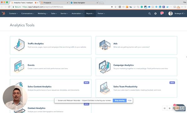 HubSpot Analytics Tool Suite