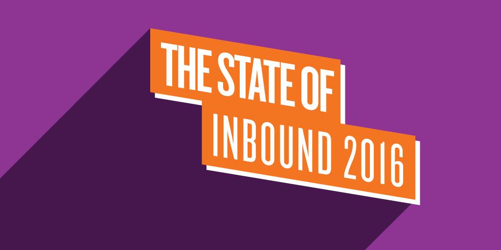 hubspot state of inbound marketing 2016
