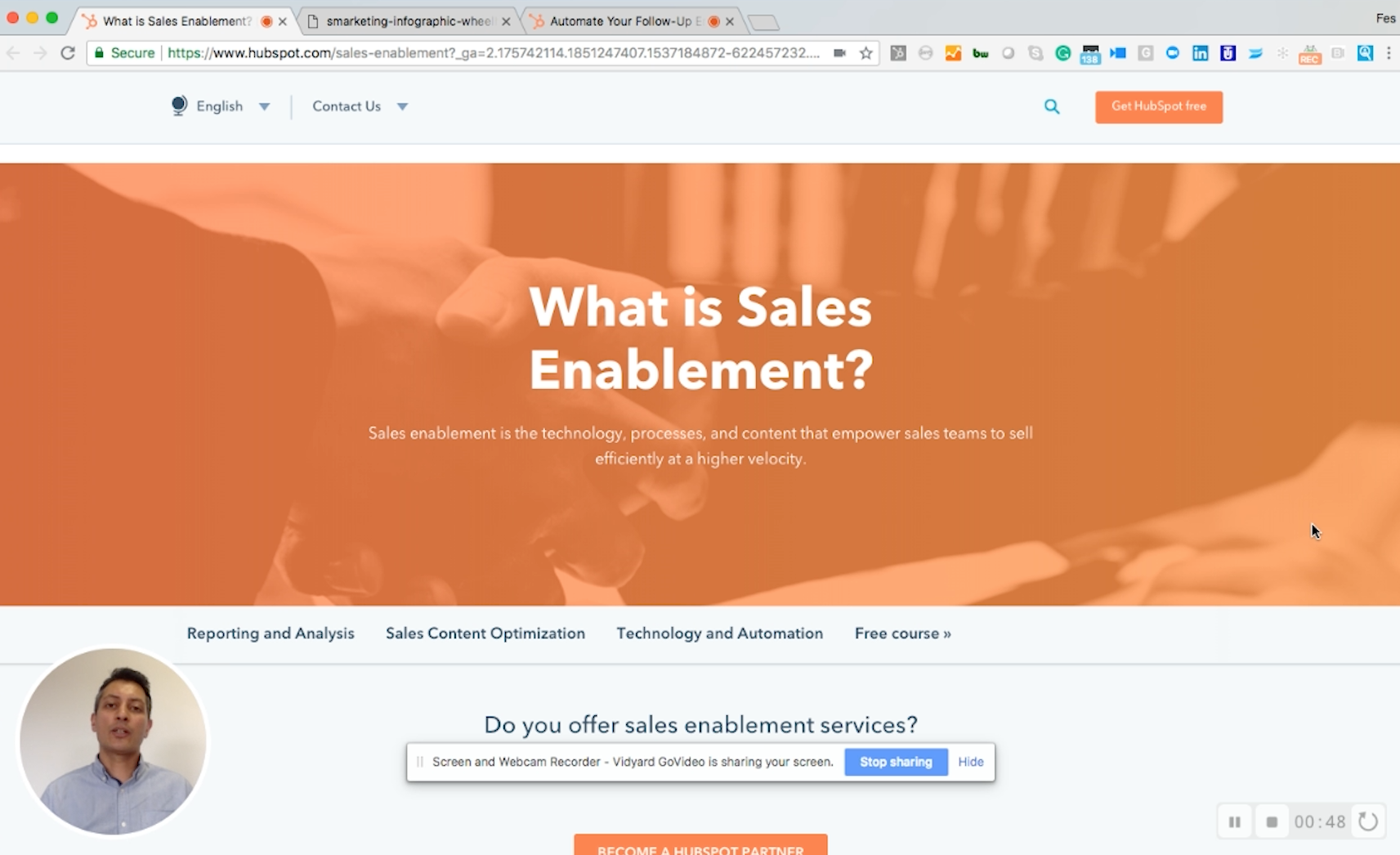 what is sales enablement process considerations