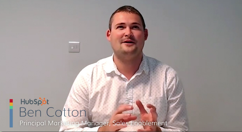 Sales Thought Leadership: Ben Cotton on Defining Sales Enablement