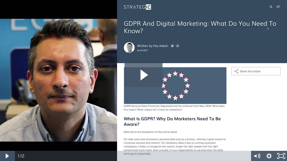 GDPR and Digital Marketing: What Do You Need To Know?