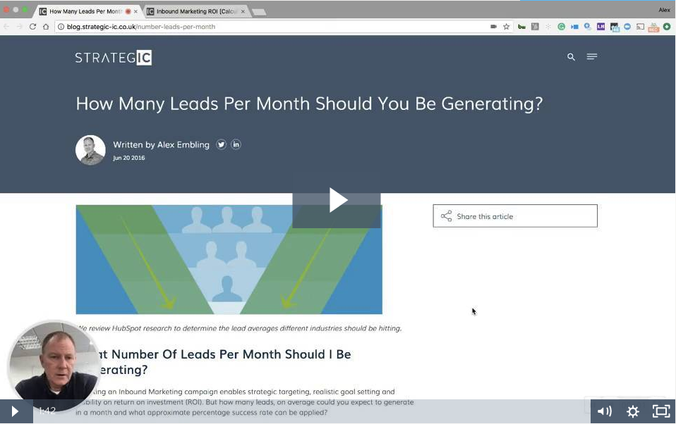 How Many Leads Per Month Should You Be Generating?