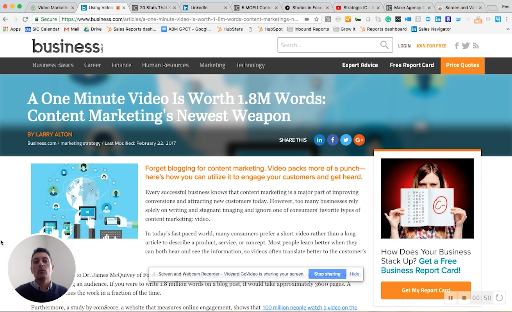 Driving Value Through Video Content Marketing