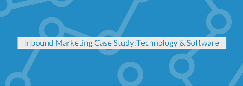 Inbound Marketing Case Study: Technology & Software