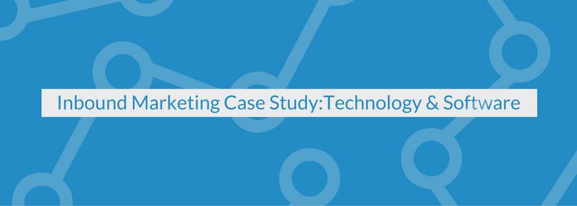 Inbound Marketing Case Study: Technology & Software