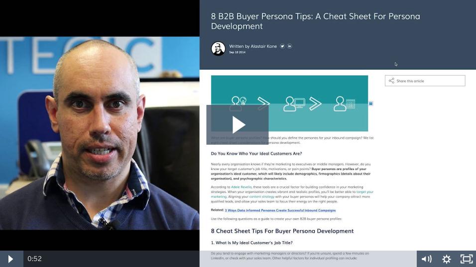8 B2B Buyer Persona Tips: A Cheat Sheet For Persona Development